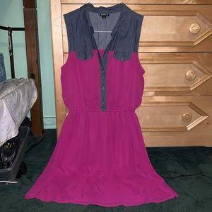 Size 4 Pink Dress